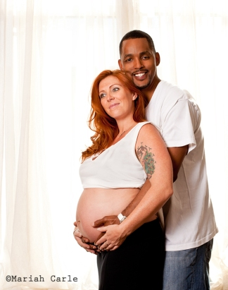Couples maternity photography